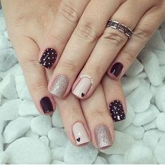 "8,374 curtidas, 32 comentários - Doce Pelicula (@docepelicula) no Instagram: ""❤️️❤️️"" Trendy Nail Art, Stylish Nails, Cute Acrylic Nails, Cute Nails, Tribal Nails, Minimalist Nails, Manicure E Pedicure, Yellow Nails, Nail Art Hacks"