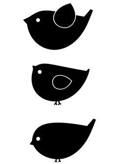 Stickers muraux, Deco murale, oiseaux est une création orginale de Plaksels sur DaWanda