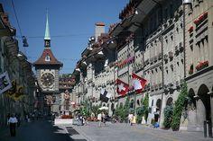Downtown Bern, Switzerland