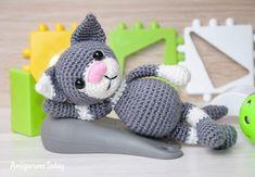 Toby the Cat amigurumi pattern
