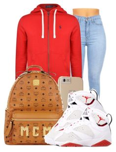 """."" by ray-royals ❤ liked on Polyvore featuring Polo Ralph Lauren, Case-Mate, MCM and Retrò"