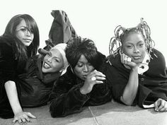 Classic, Timelss and Beautiful Photo of Aaliyah, Lil Kim, Missey Elliot and Da Brat..
