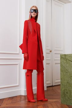 Givenchy's 2017 Fall Winter Collection Is Completely Red | HYPEBAE