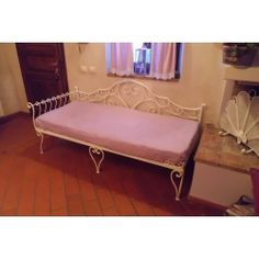 Wrought iron sofa bed. Customize Realizations. 932 Sofa Bed, Couch, Wrought Iron, Lounge, Living Room, Furniture, Home Decor, Chair, Sleeper Couch