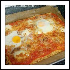 Pizza com base de couve flor ~ As Delícias das Guerreiras