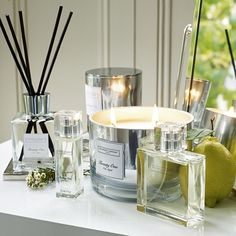 The White Company US. Twenty One Scent | Created meticulously by our founder, Chrissie Rucker, to celebrate 21 amazing years of The White Company, our beautifully considered scent is a juicy-rich fusion of citrusy lemon, neroli and grapefruit, laced with jasmine and magnolia, and finished with a sumptuous base of aromatic vertivert. Pinning from the UK? -> http://www.thewhitecompany.com/candles-and-fragrance/our-fragrances/twenty-one-collection/