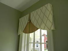 Valance Patterns Design : Amazing Green Pattern Valance Design Ideas