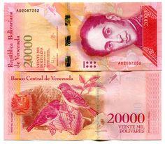 VENEZUELA 20000 BOLIVARES 2016 (2017) P-NEW UNC   eBay