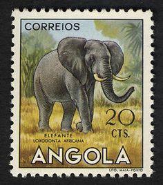 20c Elephant single
