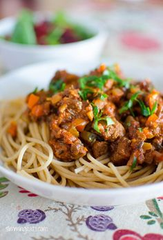 Spaghetti Bolognese | Slimming Eats - Slimming World Recipes