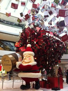 Impressive Christmas Decorations Inside Hong Kong's IFC Mall