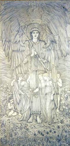 'Love That Moves The Sun' by Edward Burne-Jones