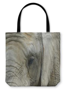 Tote Bag, Elephant African Men, White Gift Boxes, Custom Art, Beach Towel, Canvas Tote Bags, Elephant, Reusable Tote Bags, Cold, Black And White