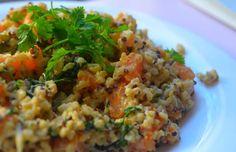 poêlée de quinoa à la patate douce