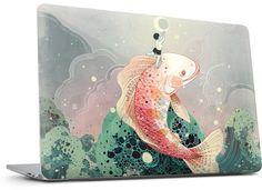 Mooncatcher Laptop Skin Macbook Skin, Laptop Skin, Art Reproductions, Original Artwork, Custom Design, Bespoke Design