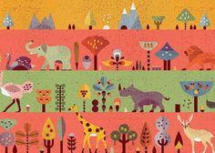 Creative Illustration, Lotta, Nieminen, Art, and Science image ideas & inspiration on Designspiration Creative Illustration, Book Illustration, Graphic Design Illustration, Lotta Nieminen, Science Images, Splash Page, Surface Design, Illustrators, Book Art