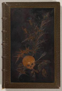 Les Fleurs du Mal by Charles Baudelaire. Original edition from 1857. Illustrated by Rodin in 1887-1888. Bought by Rodin Museum in Paris thanks to Maurice Fenaille participation.