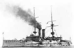 HMS ALBION (1898), was a British Canopus-class predreadnought battleship. She was then employed as part of the Channel Fleet until 1907, at which time she began service with the Atlantic Fleet. Following the outbreak of World War I, she saw action in operations against German Southwest Africa in 1914 and also served in the Dardanelles campaign against the Turks, supporting the landings at Gallipoli. She remained in the Mediterranean until 1916,