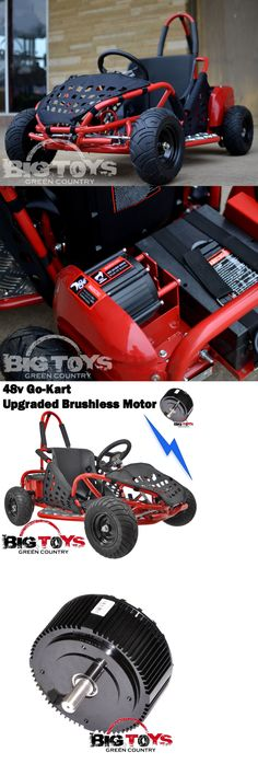 Complete Go-Karts and Frames 64656: Electric Go Kart 48V Battery 1000W Kids Quads Off Road Go Kart Red Cart Go-Bowen -> BUY IT NOW ONLY: $789.99 on eBay!