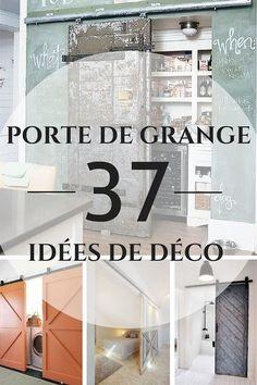 La Porte de Grange en 37 Idées Déco  http://www.homelisty.com/porte-de-grange/