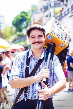 Nossas inspirações de fantasia pro carnaval carioca: fotógrafo lambe-lambe ;)