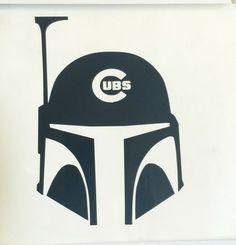 Chicago Cubs Boba Fett decal Star Wars die-cut sticker,vintage,retro,window,car | Collectibles, Science Fiction & Horror, Star Wars | eBay!