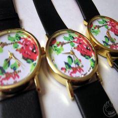 Reloj Geneva Floral $5.000.-