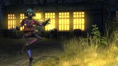 "This is Scarecrow, from the beautifull and very smart game (PS3) ""Folklore""."