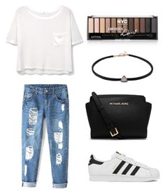 Untitled #3 by iveta-lethi on Polyvore featuring polyvore, fashion, style, MANGO, adidas, Michael Kors and clothing
