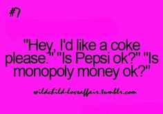 Um, no. No. Pepsi is not okay.