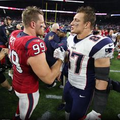 Love this pic, i like Gronk but i love JJ!!!