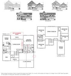 Sawtooth 2740 ::: Floor Plan