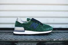 Men And Women New Balance 990 NB990 Shoes Nubuck M990GB Green|only US$75.00 - follow me to pick up couopons.
