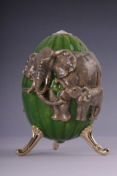 ELEPHANT FABERGE. via Etsy.// I have to have this