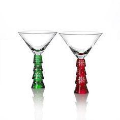 Celebrations by Mikasa Very Merry Martini Glass 2 | eBay-MIKASA