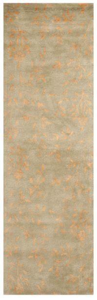 Fowler Hand-Tufted Beige / Rust Area Rug