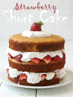 Grain & Dairy Free Strawberry Short Cake #TheUrbanPoser