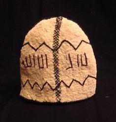 Islamic Dervish felt hat unique tribal hat by akcaturkmen on Etsy https://www.etsy.com/listing/262719564/islamic-dervish-felt-hat-unique-tribal