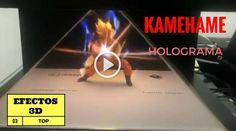 HOLOGRAMA DE GOKU HACIENDO UN KAMEHAME  Son Goku, quien no ha hecho un kame en frente del espejo del baño. Marco a más de una generación con sus capítulos interminables, seguramente tu también eres uno de ellos. En el vídeo enseñan un ejemplo de una holografía hecha para ver lo que sería un kame en tres dimensiones, el truco es bastante simple, mucha gente enseña sus vídeos donde utilizan los teléfonos móviles para ese efecto.  Si quieres hacer tu propio efecto Kame o reproducirlo, solo…