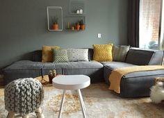 Shop the look: Grijs Sea Green met een touch of leather