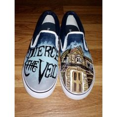 81aa976726 Pierce The Veil Shoes ❤ liked on Polyvore featuring shoes Band Outfits