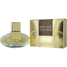 Heidi Klum Shine Eau De Toilette Spray for Women, 1.7 Ounce by Heidi Klum. $13.05. Its heart contains mimosa absolut, lily of the valley and sunflower. Launched in the year 2011 by the design house of heidi klum. The fragrance opens with notes of mandarin, pink pepper and pear. In 2011 the house of Heidi Klum released Shine a luxurious and sophisticated scent that embodies the sophisticated refined and classical woman. Not too sweet and not too flowery Shine is the perfec...