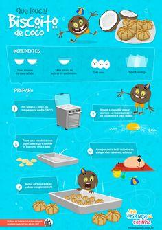 Receita: Biscoito de Coco