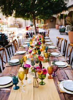 Matrimonio Party Style: DRINKWEARE COLORATO