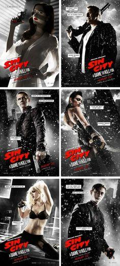 L'une des six affiches annonçant la sortie de Sin City A Dame To Kill For a été censurée au prétexte qu'Eva Green nous montre, à travers un déshabillé transparent, « la courbe inférieure de la poitrine et l'aréole d'un sein ».