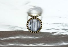 Barcode Adjustable Ring 3/4 inch 18mm by MagicJewelryStore on Etsy, $12.90