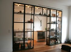 Custom Kitchen Glass Cabinet  Vasastan/Stockholm