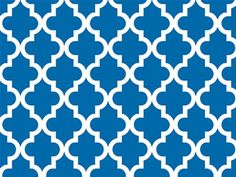 """Geo Graphic Tiles Blue Gift Wrapping Roll 24"""" X 16' - All Occasion Gift Wrap Paper Premium Gift Wrap"""
