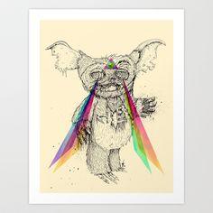 Gizmombie+Art+Print+by+Albert+F.+Montoya+-+$20.00