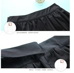 Toyouth 2016 новое поступление женщин среднего юбки черным цветом расширение бантом поясной ремень длиной до колен офис юбки женский купить на AliExpress